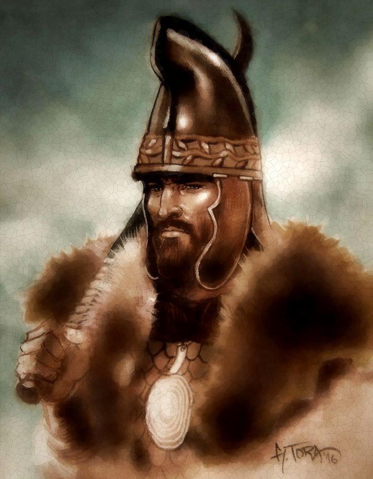 Dacian tarabostes warrior