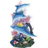 Marine Life Dolphin Design Figurine Statue Decoration Decor Collection @ seaofdolphins.com