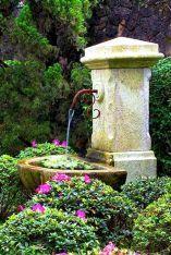Stunning and creative diy inspirations for backyard garden fountains (8)