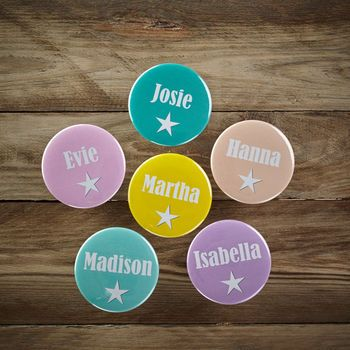 Personalised Party Bag Badges
