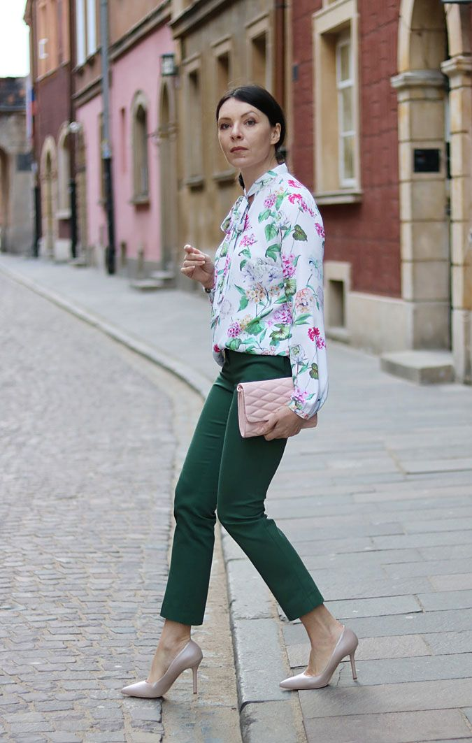Koszula W Kwiaty Mohito Work Looks Fashion Summer Work