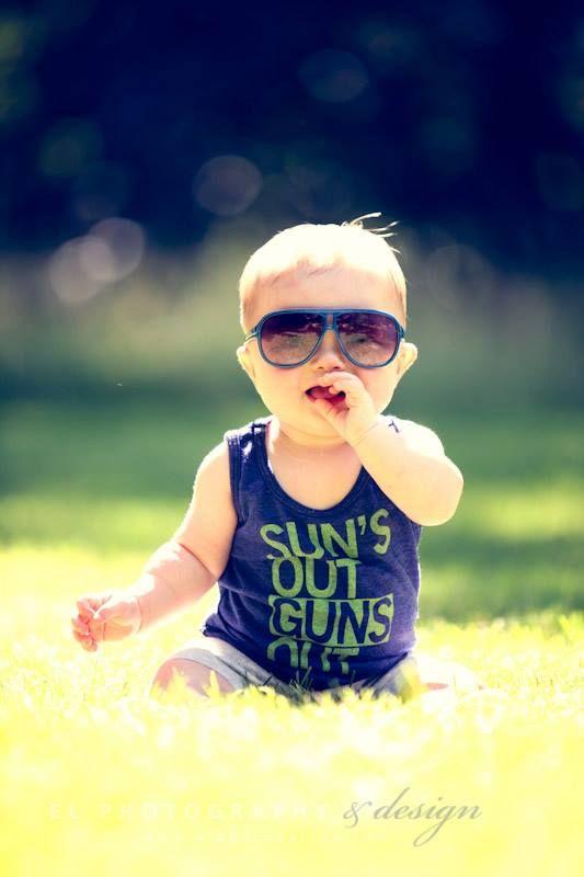 Sun's Out Guns Out ...hilarious!