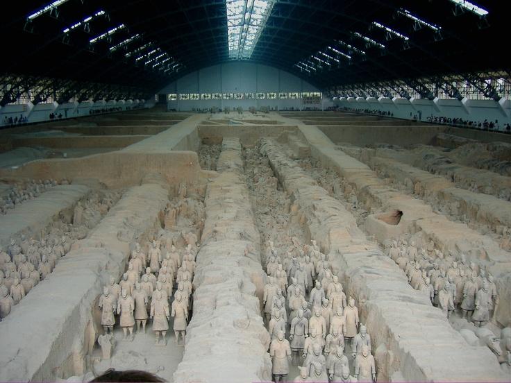 Soldados de terracota. Xian. China