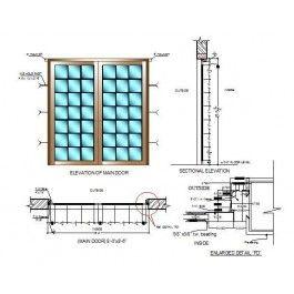 63 Best Door Cad Blocks Door Cad Drawings Images On