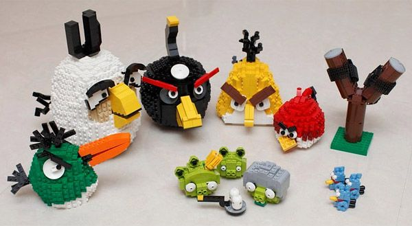 Lego Angry Birds!