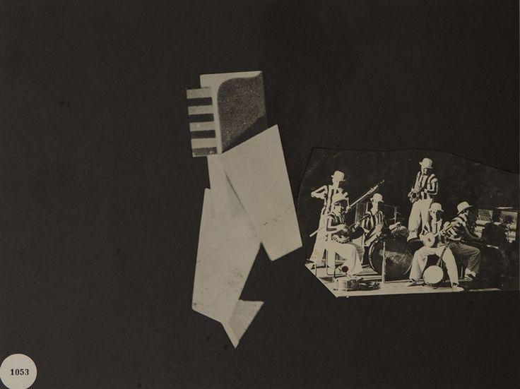 Untitled Collage (with Bauhaus Jazz Band) by Xanti Schawinsky, 1938