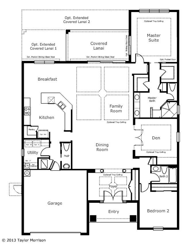 Madison by taylor morrison homes at connerton floor for Taylor homes floor plans