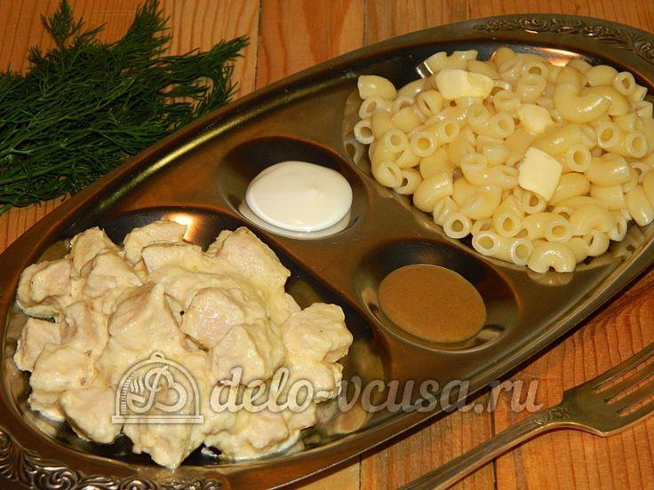 Рецепт приготовления куриного филе в майонезе #курица #куриноефиле #птица #еда #рецепты #деловкуса #готовимсделовкуса
