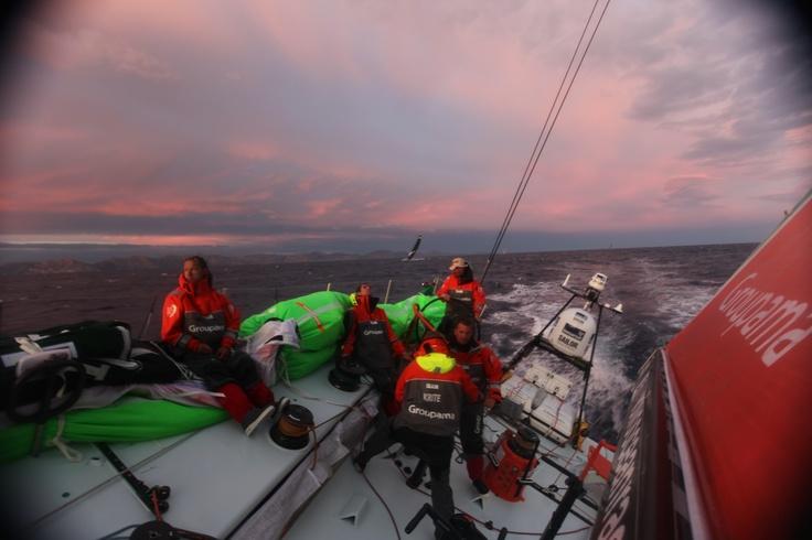 Leg 1 - Day 1 / Groupama in the Volvo Ocean Race 2011-2012