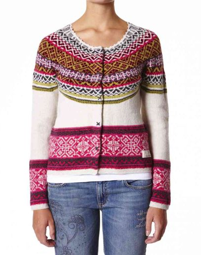 ODD MOLLY CHALK SNOW ANGEL CARDIGAN Updating boho-cool essentials is Odd Molly's brand new collection, this stunning blue snow angel cardigan in O/M classic winter print in a fashion forwards burgundy, lime green and white pattern which will look great this season. Team with denim, dark cotton and heavy parkas for smart sunday style.   www.jessimara.com