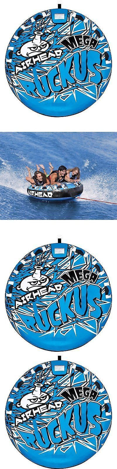 Tubing and Towables 71169: Inflatable Water Towable Tube Airhead 3 Rider Person Sportsstuff Deck Boat Lake -> BUY IT NOW ONLY: $108.51 on eBay!