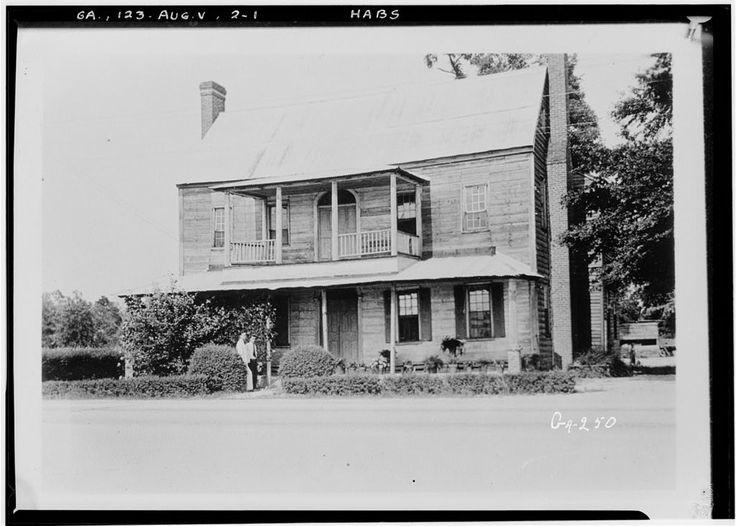 Glascock House Old Savannah Road Augusta Richmond County GA
