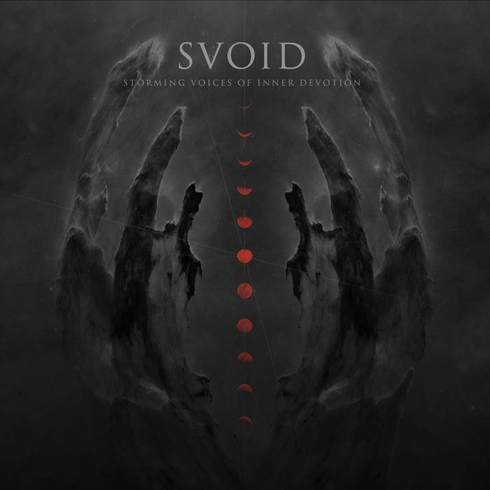 """SVOID (Miskolc/Budapest, Hungary) BLACK METAL """"Storming Voices Of Inner Devotion"""" • RELEASE: April 18th, 2016 • TRACKS: 1.Through The Horizon03:39 2.Crown Of Doom03:48 3.Never To Redeem03:40 4.Death, Holy End03:58 5.Eternal03:22 6.A Mind In Chains03:36 7.Lefelé A Setét Mélységbe 01:17 8.Forlorn Heart04:21 9.Bloodline04:10 10.Long I've Gone (Where All Sinks)04:35 11.In Damnation Vast04:02 • total: 40:28 min. • LINE-UP: S - bass - vocals Gergő - guitars, vocals…"""
