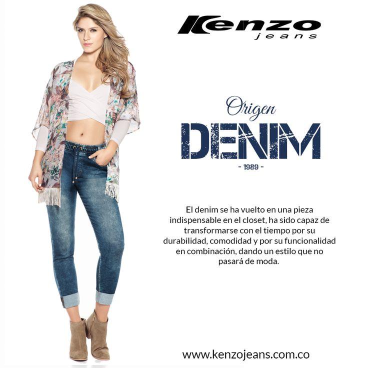 Conoce a fondo el mundo #denim de la mano de Kenzo Jeans, más info en www.kenzojeans.com.co/origen-denim/ #KenzoJeans