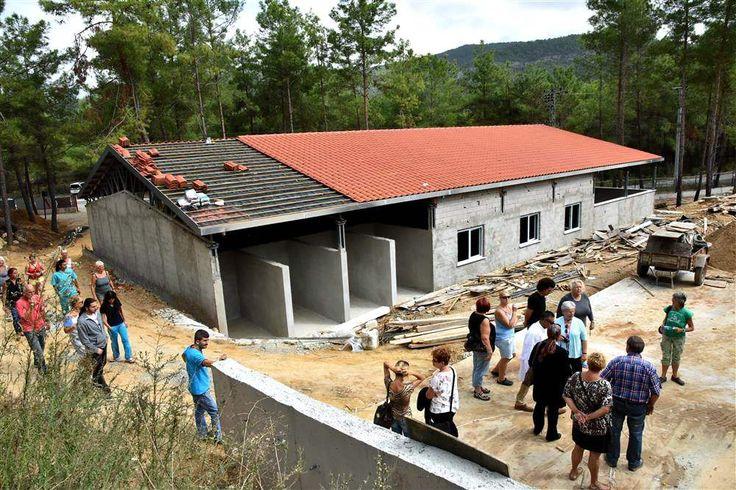 Мэр Алании посетил строящийся приют для животных #alanya #shelter #turkey #animals