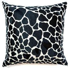 Giraffe Print Cushion Boyd Blue
