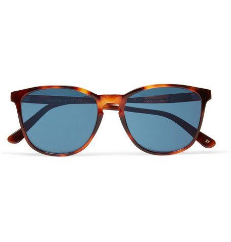 L.G.RNairobi Square-Frame Tortoiseshell Acetate Polarised Sunglasses