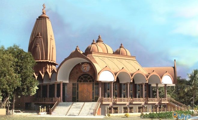 Love Temple, Rajkot, India  * A Syro-Malabar Catholic cathedral.   @ http://ijiya.com/8235587