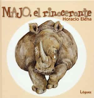 Majo, el rinocerontes de Horacio Elena. Majo no es feo. Es feísimo. Los demás animales o le temen o le toman el pelo. Pero, ¿le servirá de algo ponerse faja, polainas, lazo, gafas, sombrero y bigotes? Con este atuendo llega a la ''Tierra de los hombres''. L/Bc LOG maj