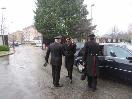 FOTOGRAFIE - Comandante generale dei carabinieri Leonardo Gallitelli al Comando di Varese dopo la cattura di Domenico Cutrì - Cinquew News