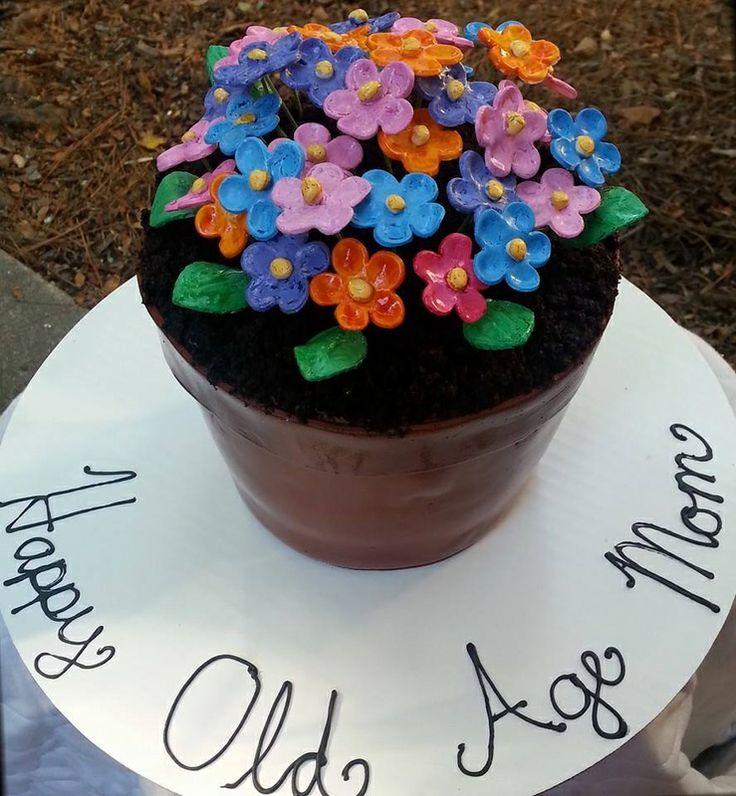 Flower Birthday Cakes Pinterest