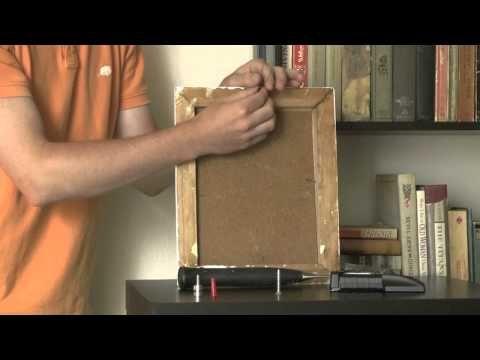 ▶ Art Hanging Modern Hardware Tutorial - YouTube