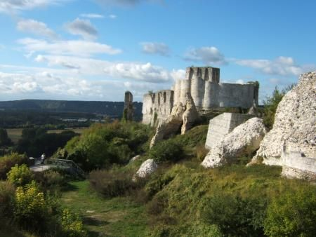Chateau-Gaillard, Les Andelys, France ~Stronghold of Richard the Lionheart~ and built in One year