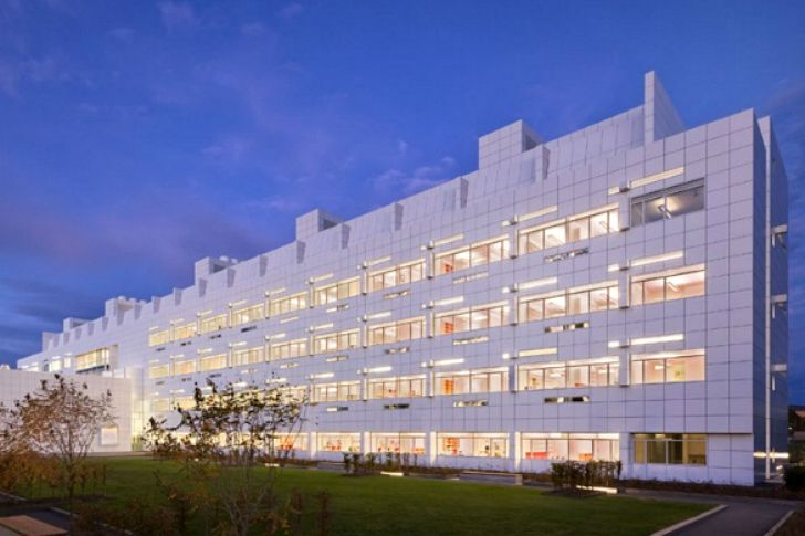 Cornell's Geometric White Weill Hall Laboratory is an Energy S...