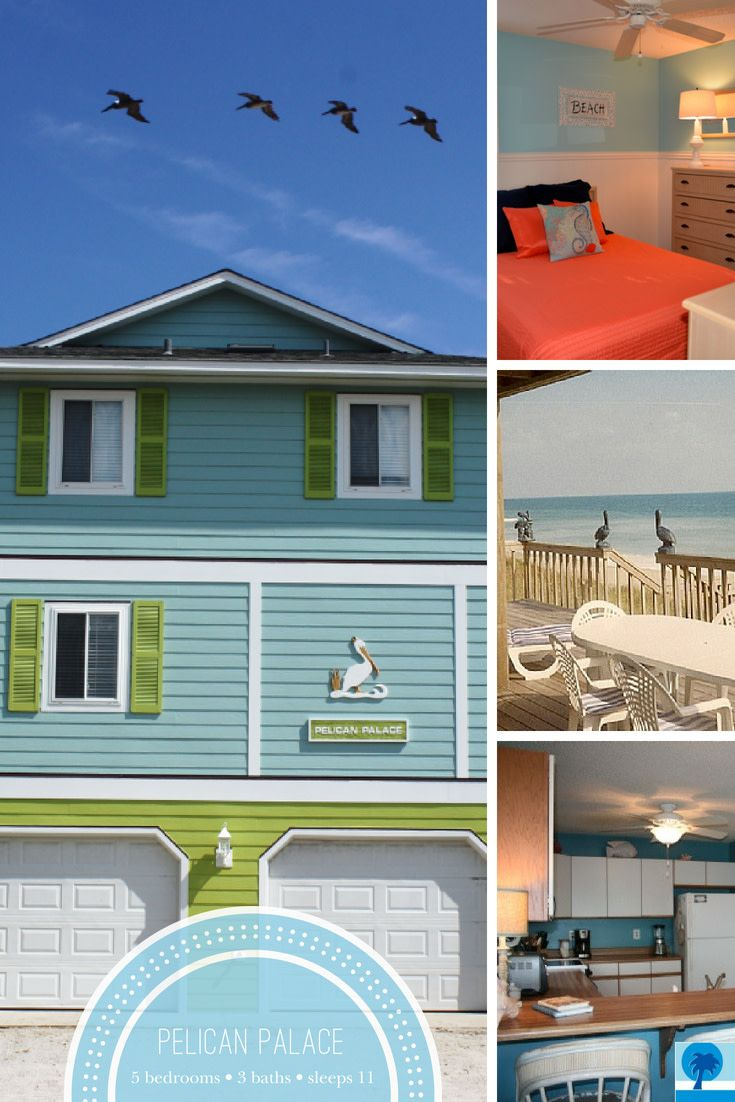 Pelican Palace Is Almost Totally Booked Up For Summer 2020 Don T Miss Your Chance To Vacation At This Surf City Gem In 2020 Vacation Surf City Vacation Home