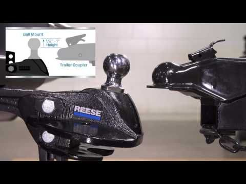 Installing the Reese® STEADi-FLEX® Sway Control & Weight Distribution Hitch - YouTube