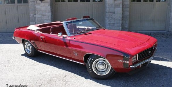 Legendary Motorcar Company | | 1969 Chevrolet Camaro Convertible RS/SS 396/350hp for sale