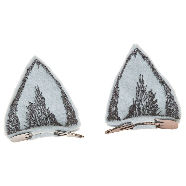 Coral and Tusk - wolf ears