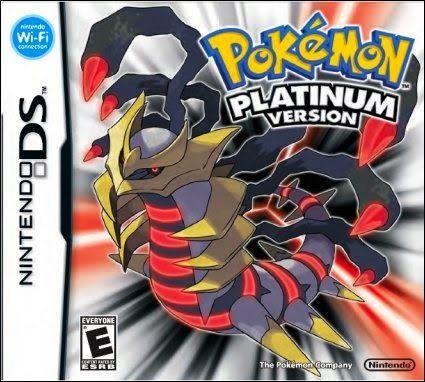 Pokemon Platinum   Pokemon Paper Mario Pokedex