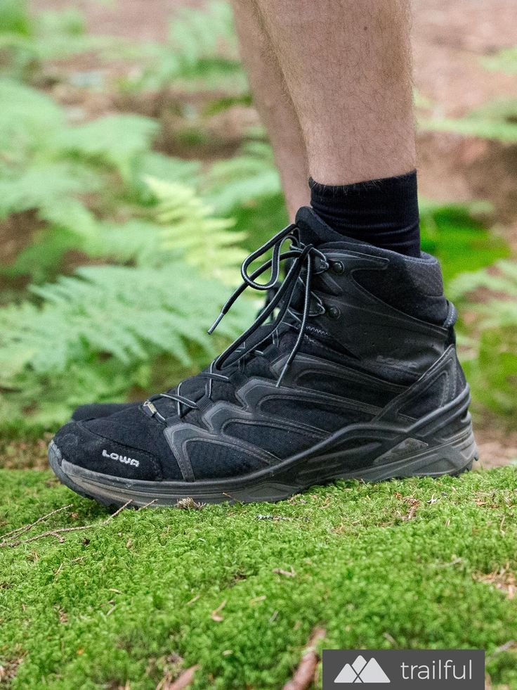 LOWA Innox GTX Mid hiking boot review: we love the solid performance from this fully waterproof mid-hike boot, perfect for lighter days on the trail and warmer weather
