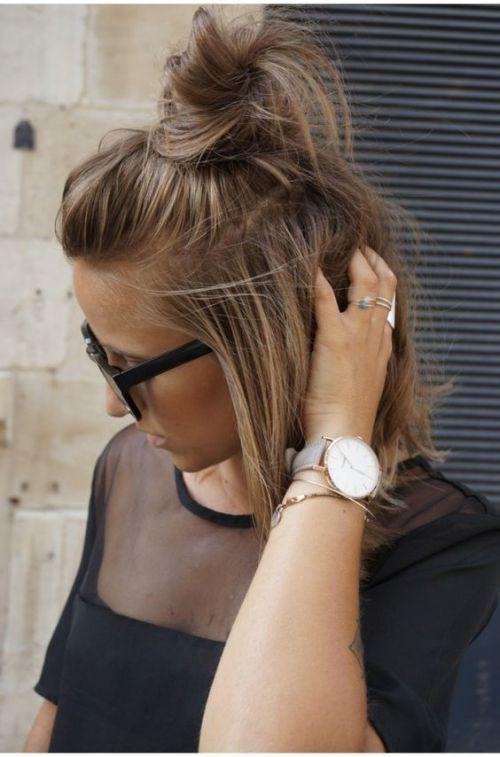 16 Magnifiques Styles de Cheveux Courts Que Vous Allez aimer | Coiffure simple…
