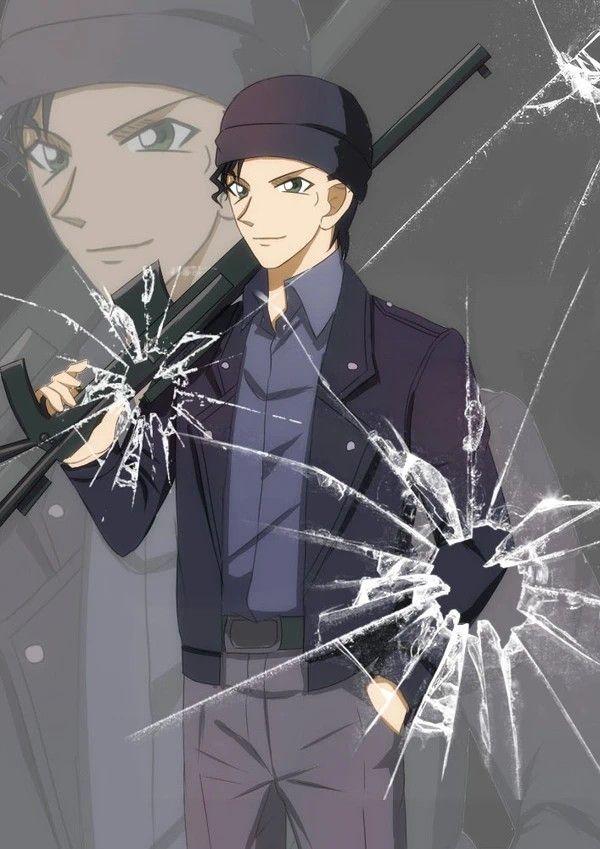 Shuichi Akai Anime Detective Conan Kid Detectives