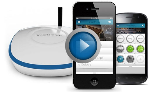 SmartThings - Make Your World Smarter | Choose from 3 SmartThings Solution Packs: Home Security, Home Watch, Family Life.