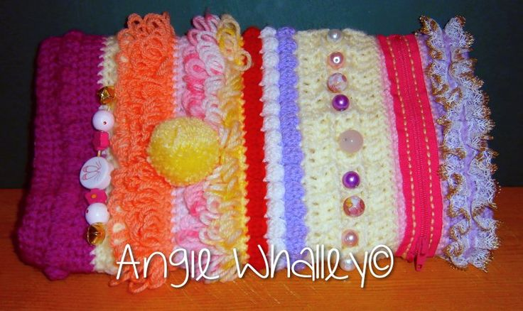 5th Crocheted Twiddlemuff :)