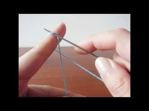 Corso Tutorial di Base Completo di CHIACCHIERINO AD AGO - Complete Course Basic of NEEDLE TATTING - YouTube