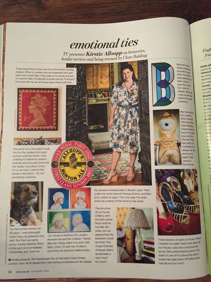Kirstie Allsopp and The Great British Exchange in the Mail On Sunday