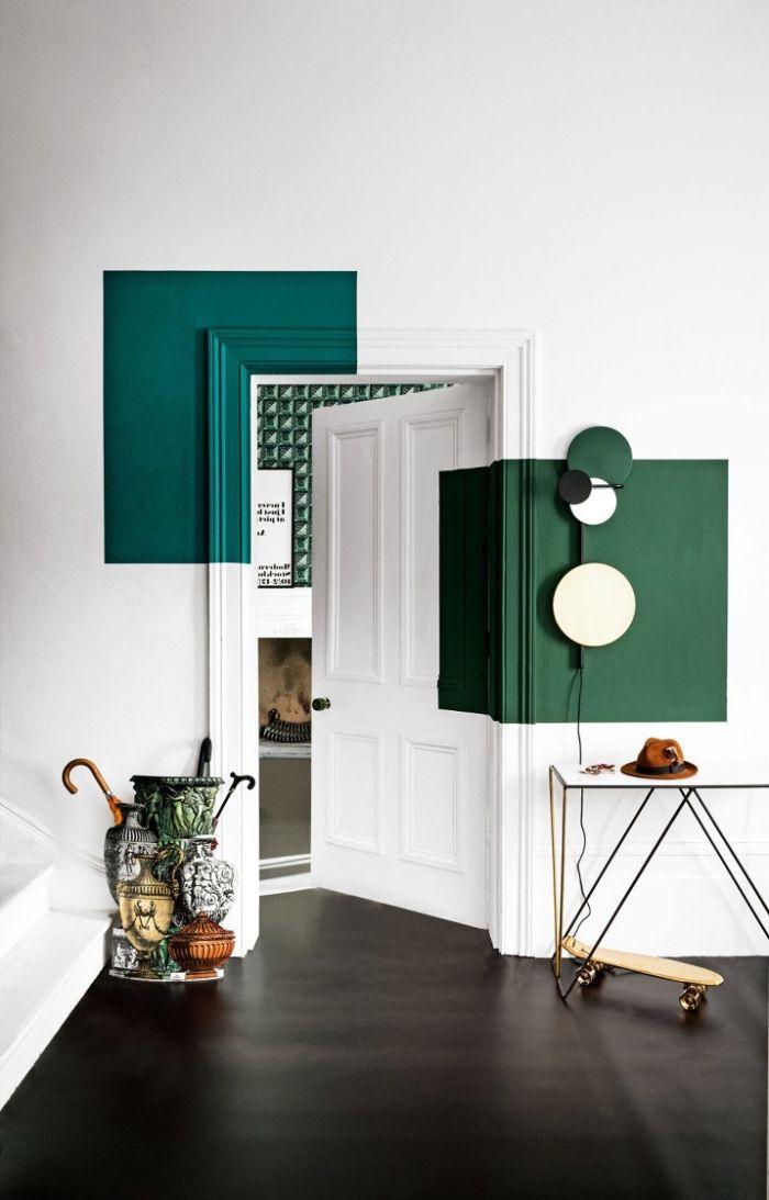 Türdekoration: 70 Ideen, um die Innentür zu einem dekorativen Element zu machen