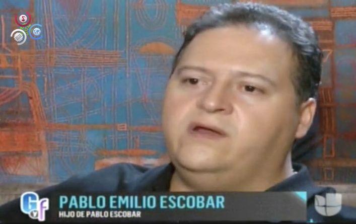 Hijo De Pablo Escobar Habla De Foto Del Elenco Del Chavo Del 8 Con Su Padre #Video