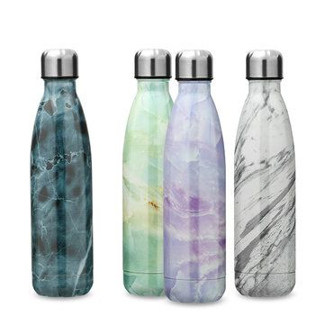 KCASA KC-BT007 Portable Insulation Water Bottle Outdoor Vacuum Cup Double Walled Thermos Flask at Banggood