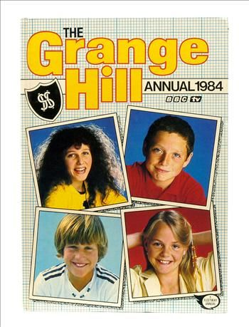 Grange Hill BBC TV Annual 1984 ft. characters Annette Firman, Zammo, Jonah and Fay Lucas.