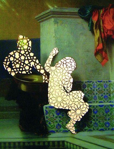Sousan Luqman - Exotic Transfigurations 'Transfigured 1' 47cm x 38cm