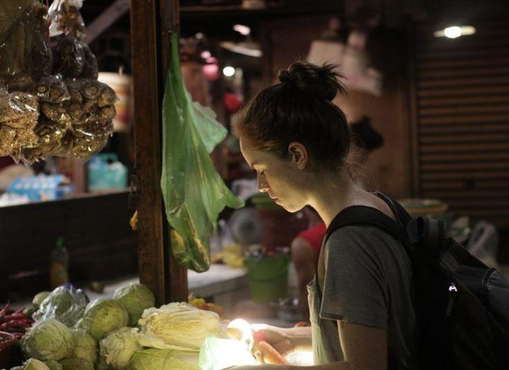 Mercado Ruso en Phom Phen, Camboya