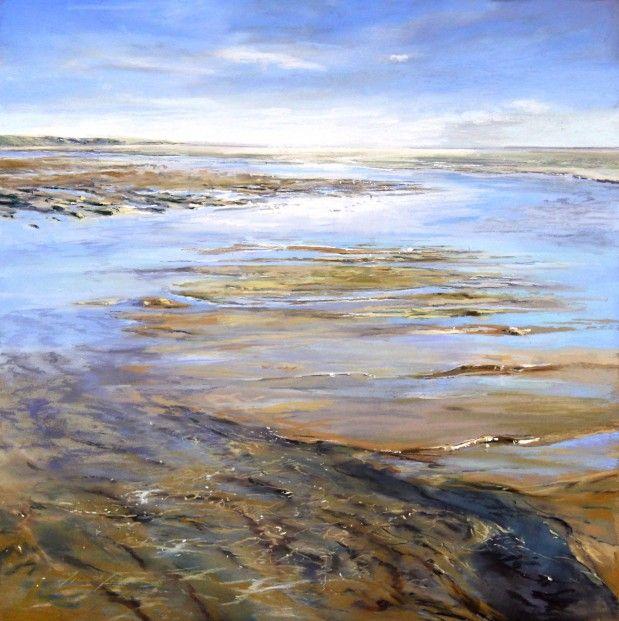 Fiona Haldane, Shifting Sand, Lunan Bay, Pastel | Scottish Contemporary Art
