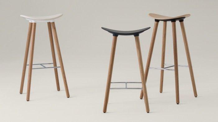 Enjoyable Enea Cafe Modern Wood Stool Wood Stool Stool Most Machost Co Dining Chair Design Ideas Machostcouk