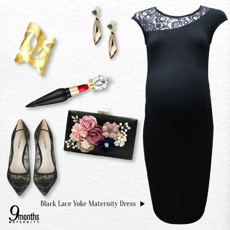 'Go classic' is the motto for every beautiful mum-to-be. The most classic clothes to go for a fancy dinner is a little black dress with a twist! Dress your bump into this regal staple.👑💄 www.9monthsmaternity.com  Shop the dress Black Lace Yoke Maternity Dress → $41.06  #9months #9monthsmaternity #materniyfashion #maternitydress #maternityclothing #maternityclothes #fashioninspiration #fashion #dress #lace #lacedress