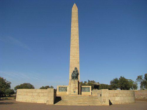 Die Nasionale Vrouemonument, Bloemfontein